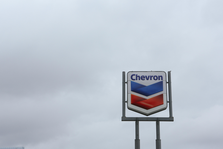 Austin Texas Chevron Sign