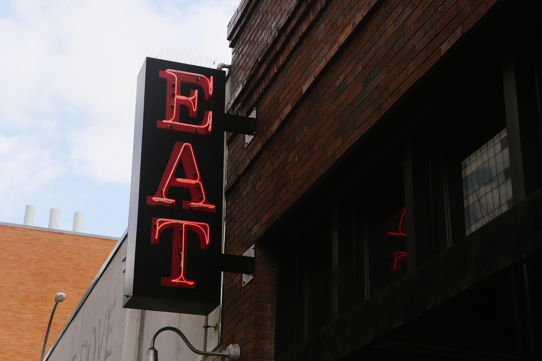 Austin Texas Eat Neon Sign