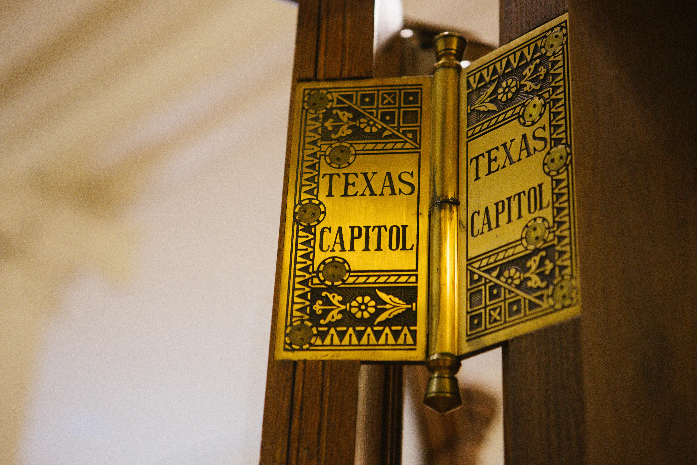 Austin Texas State Capital Door Hinges