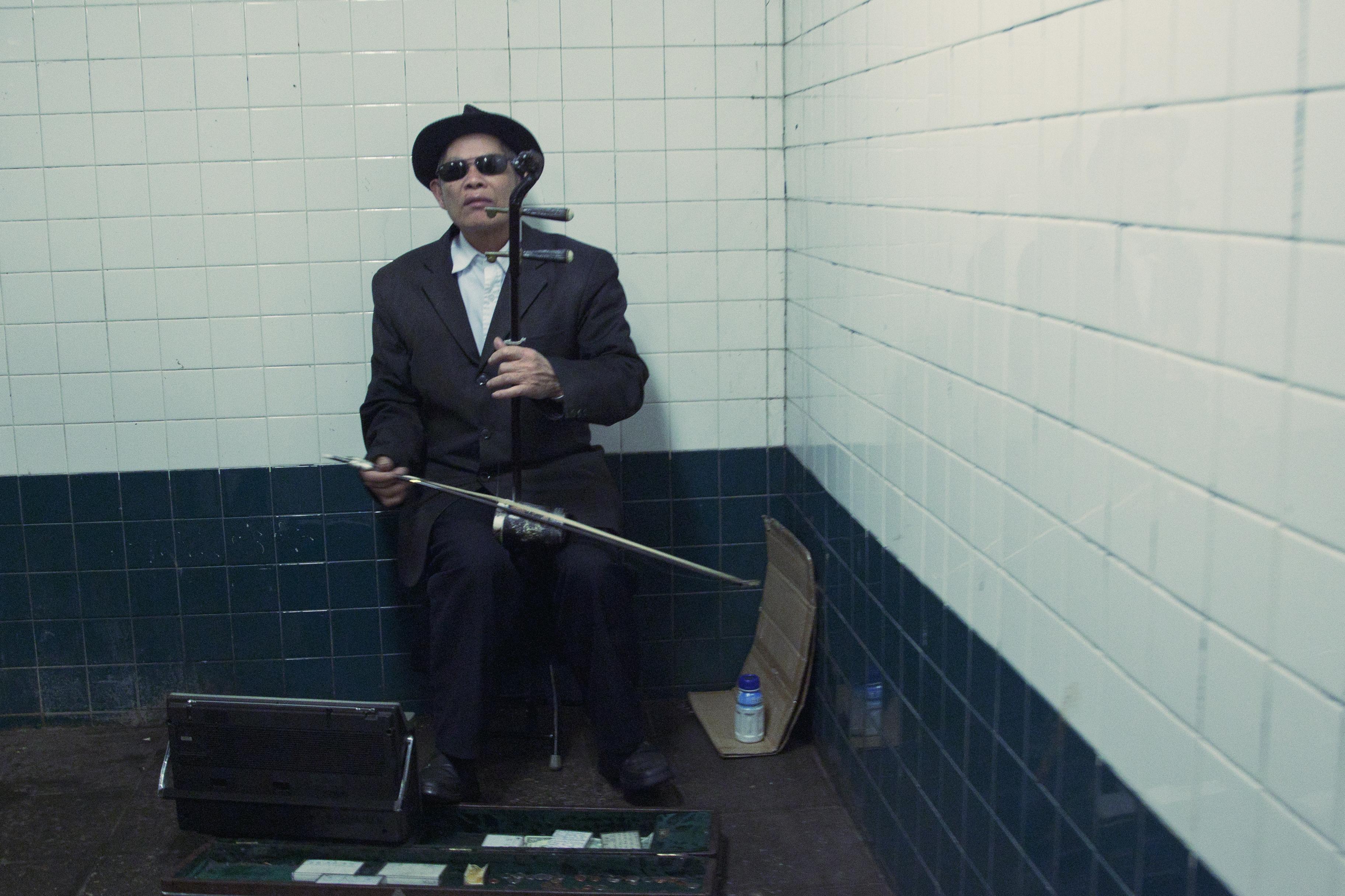 New York City Blind Musician