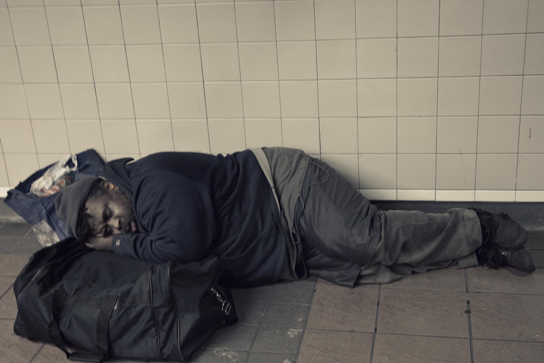 New York City Subway Sleeper