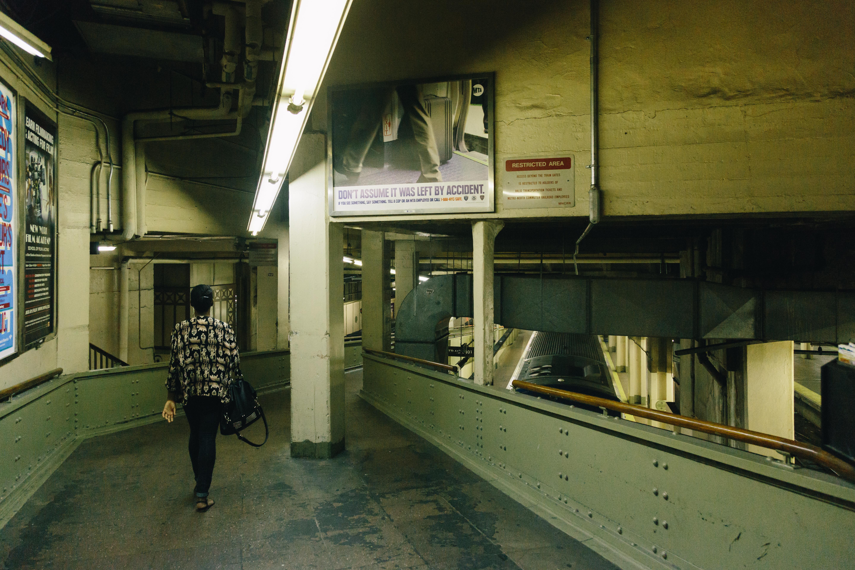 New York City Subway Walkway