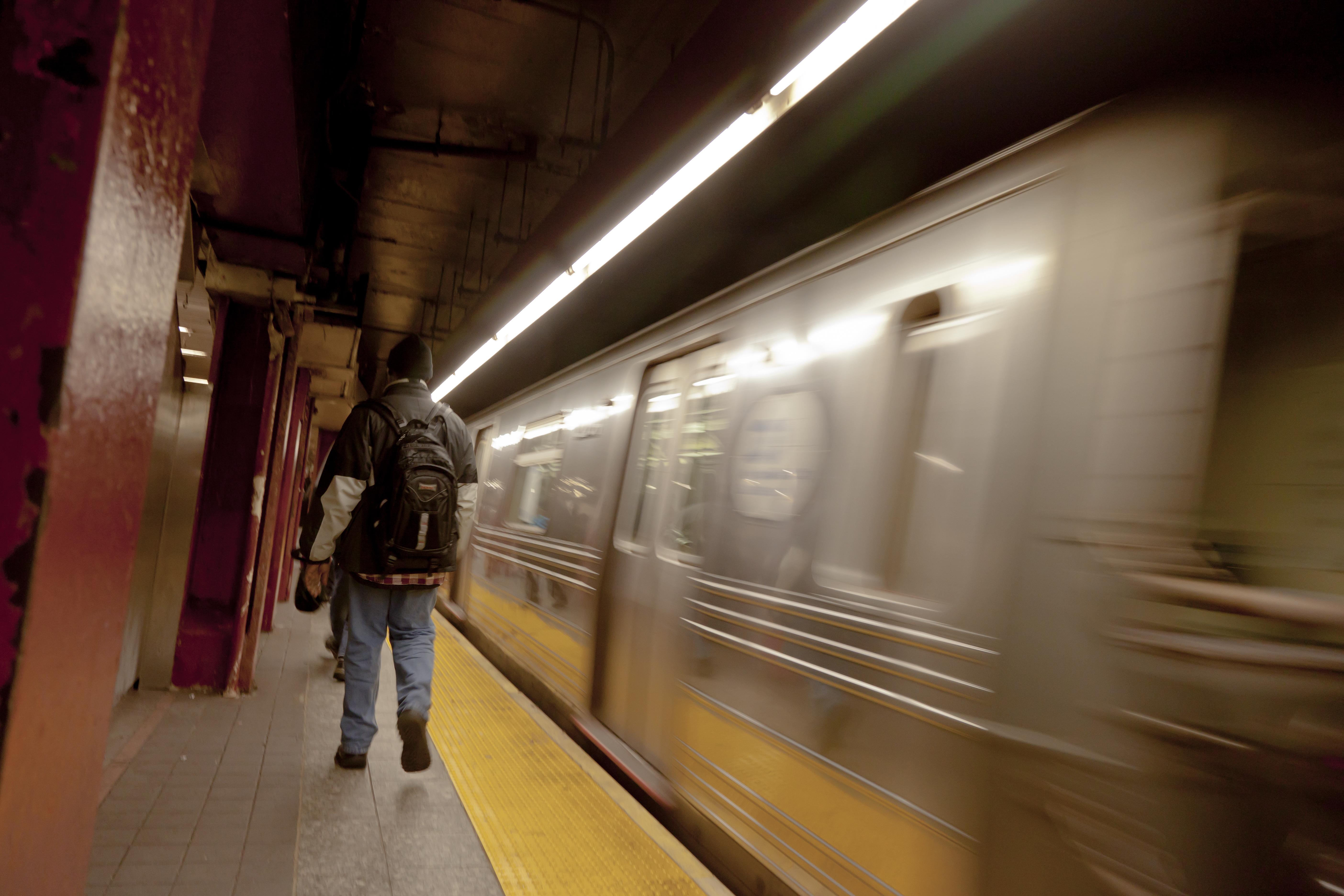 New York City Subway Zoom