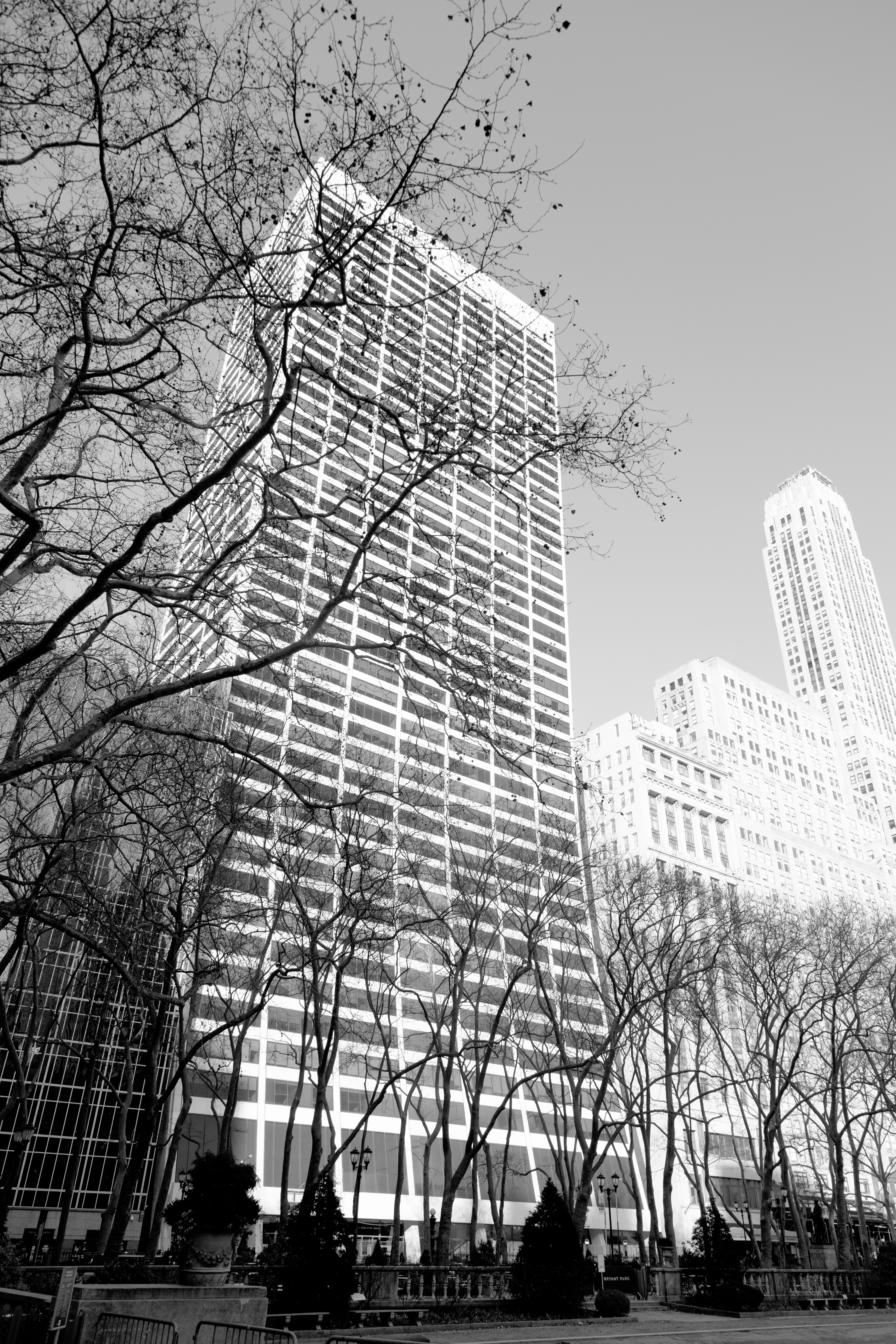 New York City W R Grace Building From Bryant Park