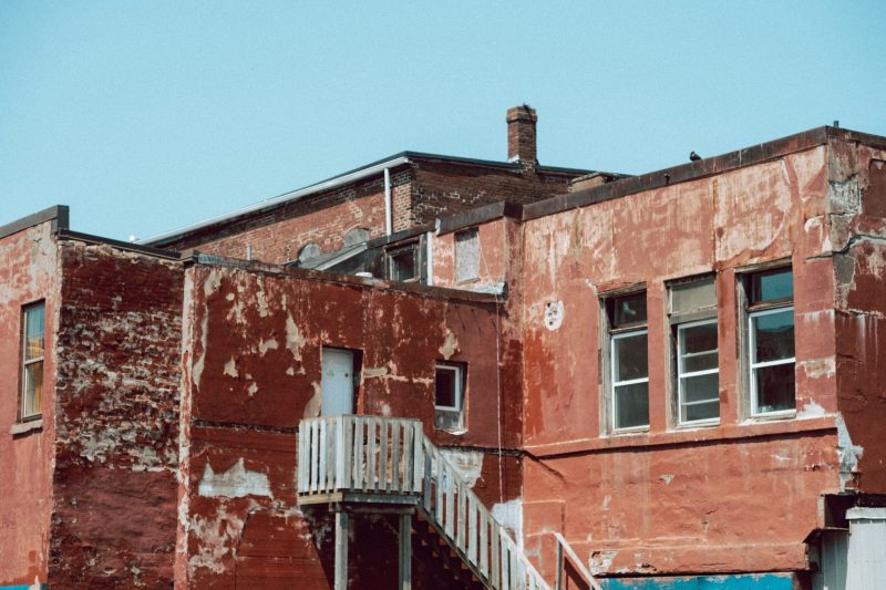 Back of Building on Union Street