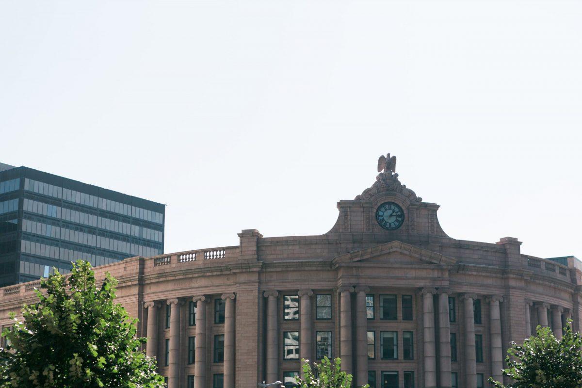 A photograph of South Station Facade – Boston Massachusetts