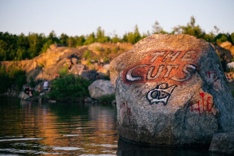 The Cuts Swimming Hole Rock