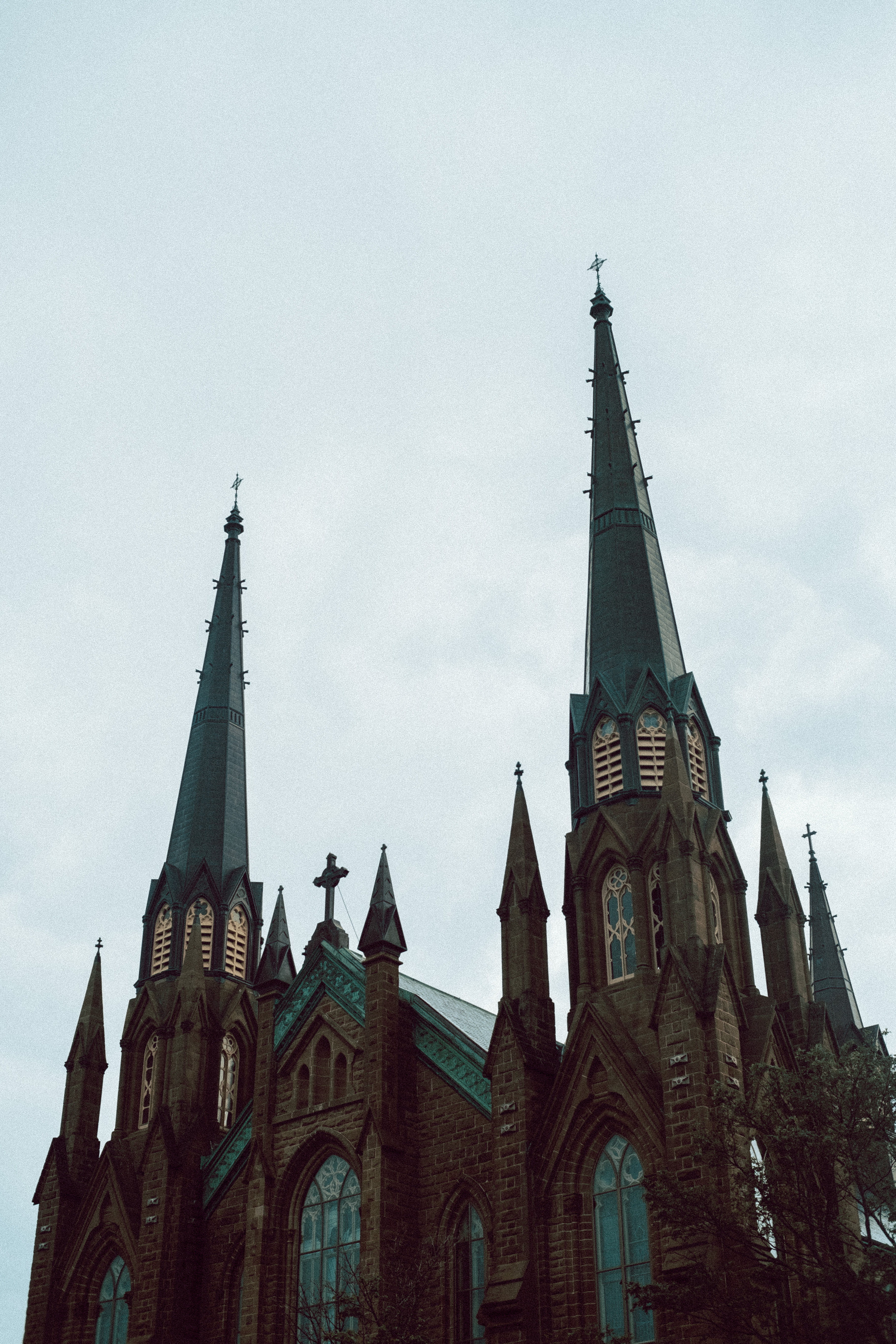 PEI Cathedral Steeples