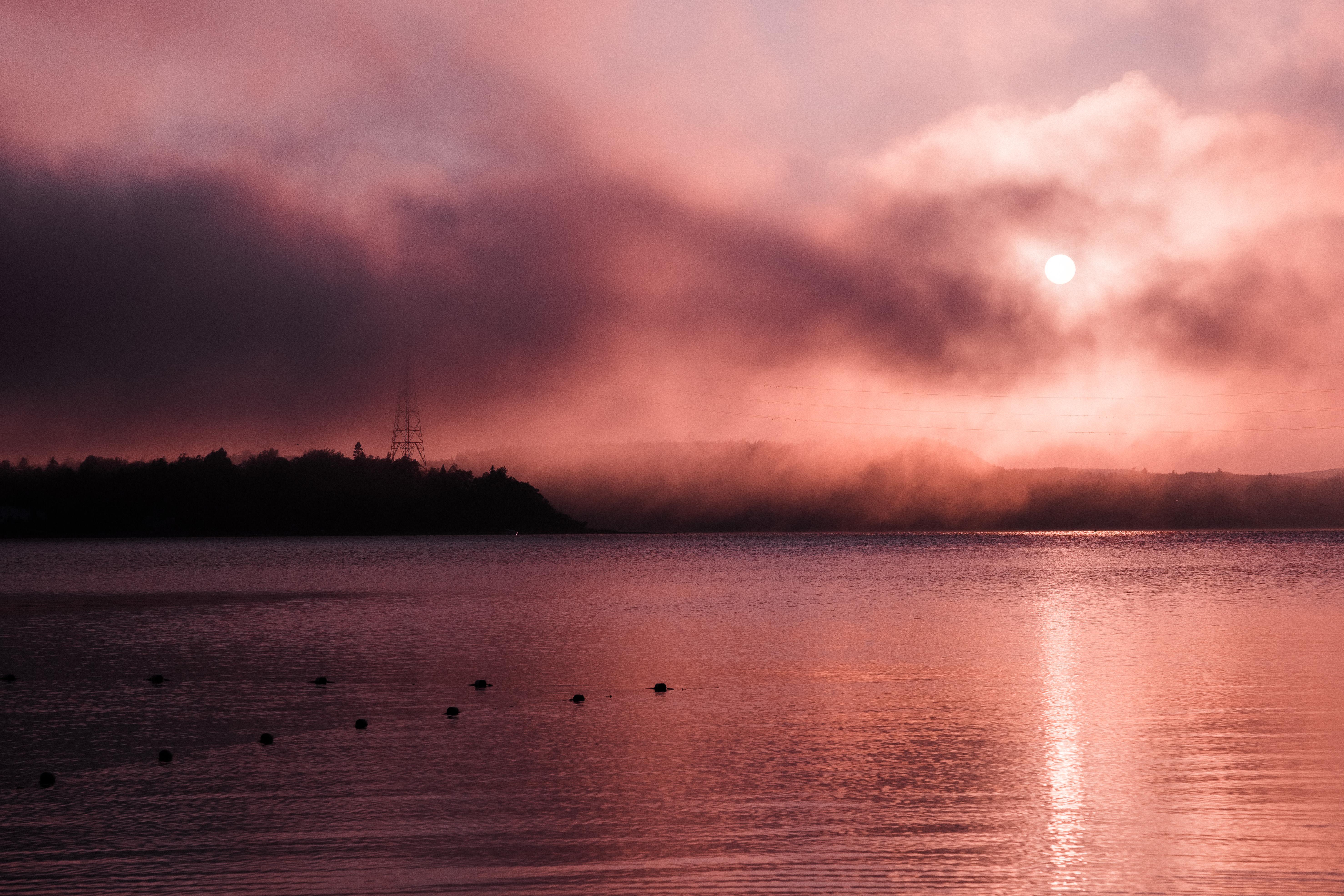 Sunset at Dominion Beach