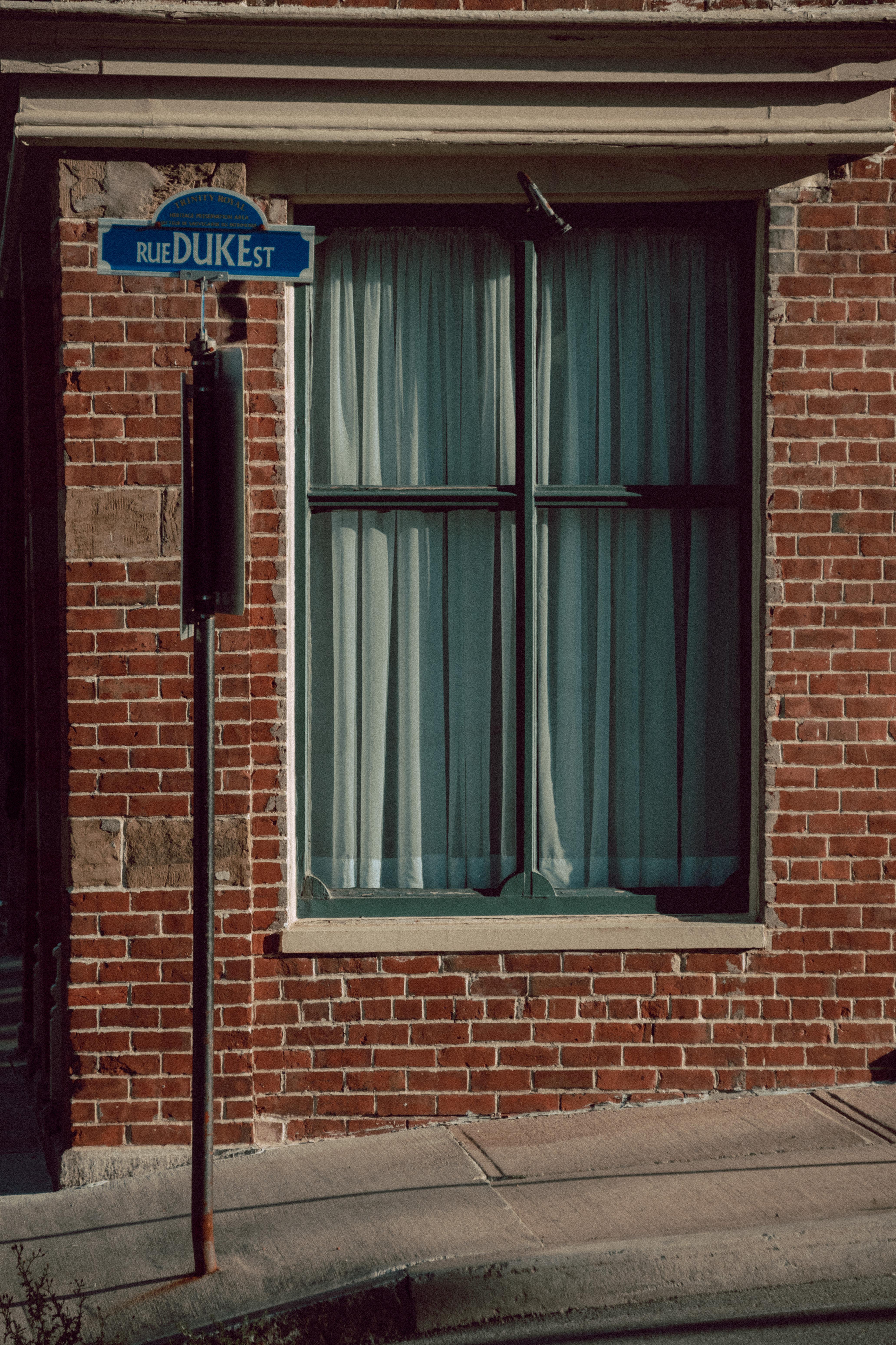 Duke Street Sign Vertical