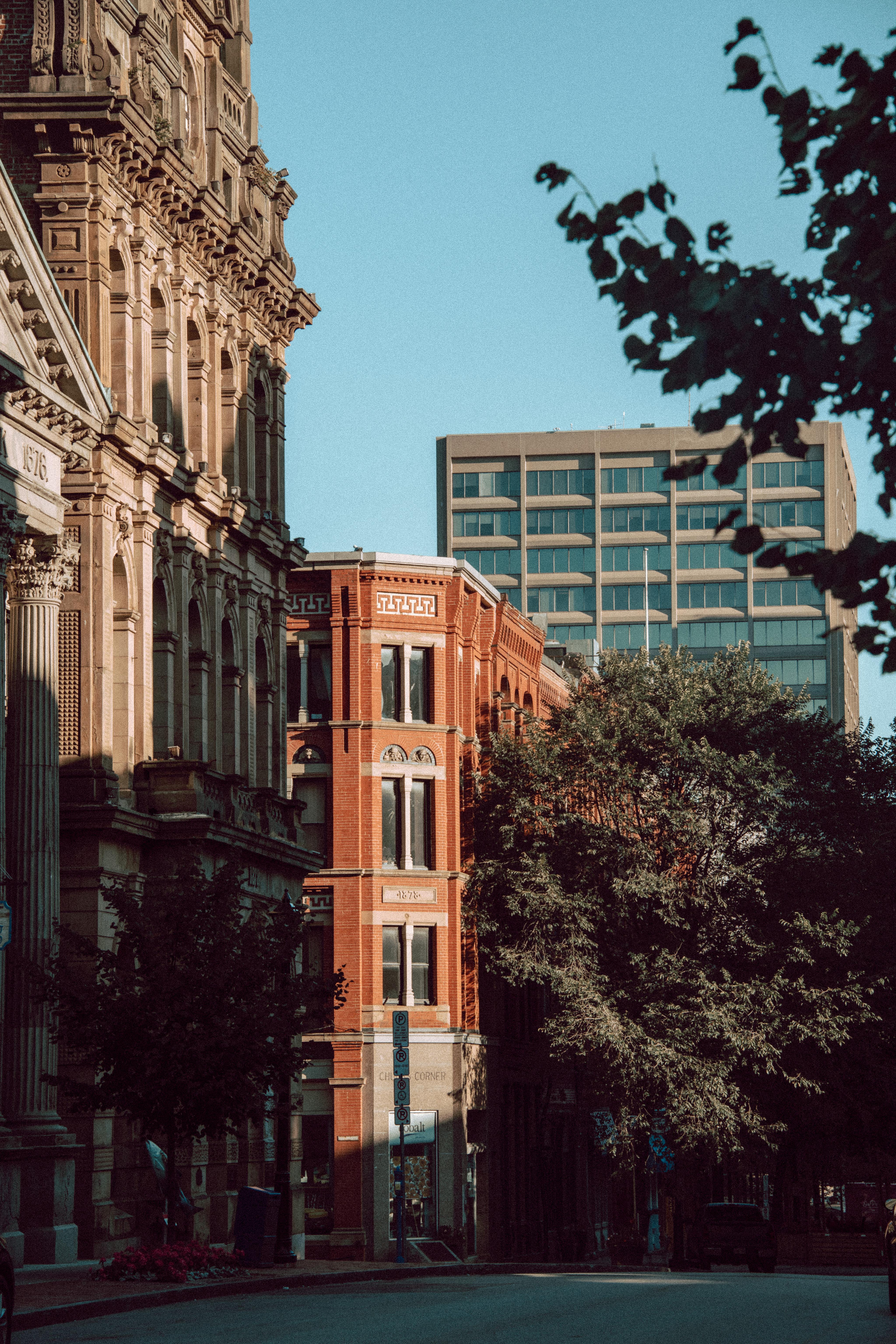 Prince William Street Buildings Vertical